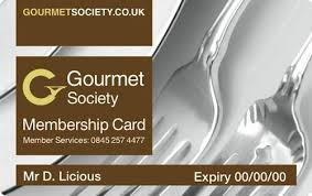 Gourmet Card