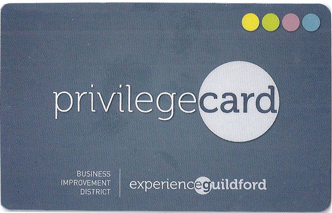 Experience Guildford Privilege Card